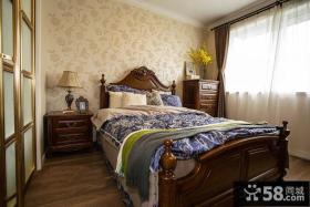 美式田园风格家居卧室装修图片