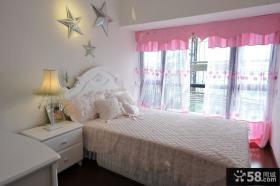 田园设计粉色卧室效果图