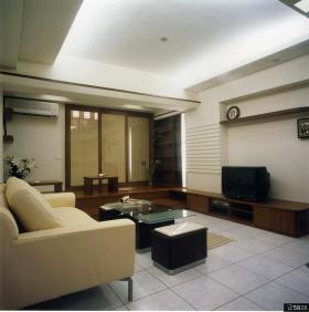 现代中式风格家居设计二居室