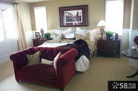 欧式古典装修卧室设计图片2014