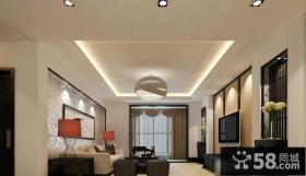 客厅纸面石膏板吊顶图片