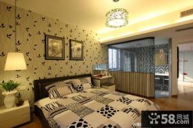 精装修样板房卧室装修效果图