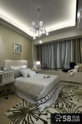 现代新古典风格卧室装修图片