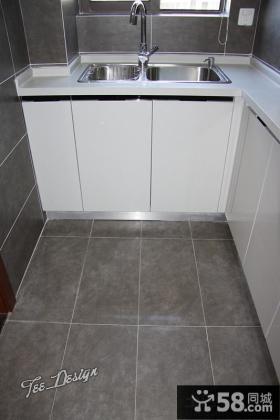 廚房地磚效果圖
