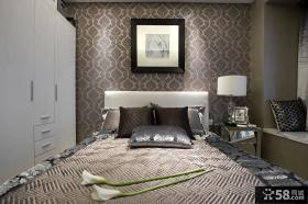 现代新古典风格卧室设计效果图