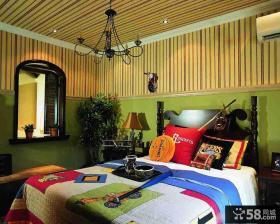美式乡村风格儿童房装修设计