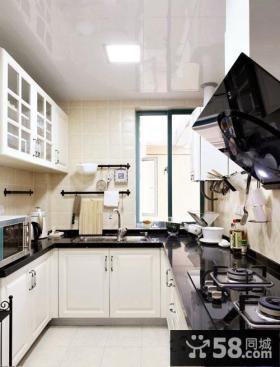 欧式风格厨房集成吊顶装修设计