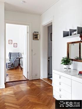 95㎡北欧风格复式楼玄关装修效果图大全2012图片