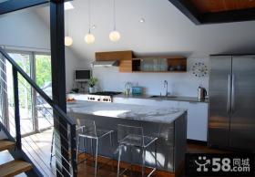 小复式楼装修效果图 复式楼客厅装修效果图