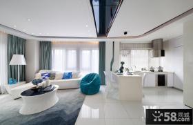 极简设计客厅吊顶