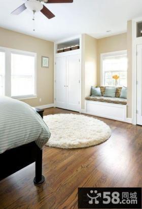 卧室入墙衣柜效果图欣赏