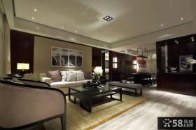 现代中式装修风格四室两厅两卫装修图