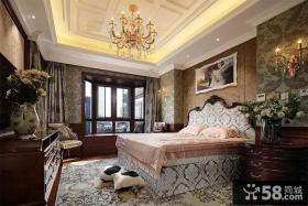 优质欧式高档装修卧室吊顶图
