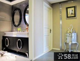 现代时尚的二居室卧室装修效果图大全2012图片