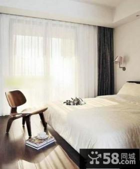 家庭设计卧室窗帘效果图大全