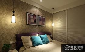 卧室led吊灯图片欣赏