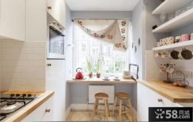 清新唯美简约厨房设计