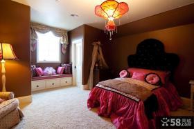 女生卧室飘窗装饰设计图
