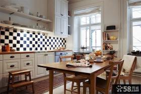 美式家居厨房装修图