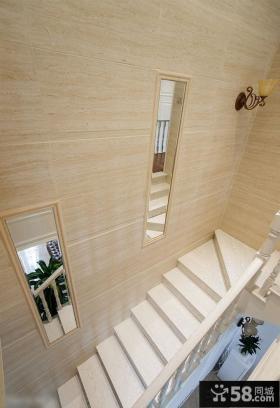 别墅室内楼梯设计图片