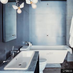 复式小卫生间设计效果图