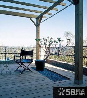 家庭设计开放式阳台图片