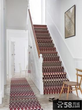 北欧家庭设计楼梯效果图欣赏大全
