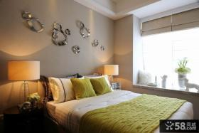 时尚现代家装卧室布置