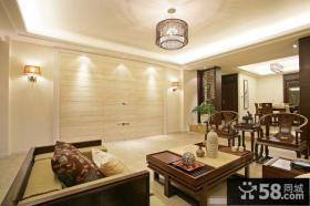 客厅古典中式吊灯效果图
