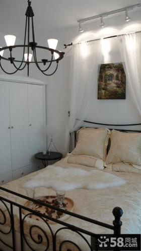 简约50平米小户型卧室装修效果图