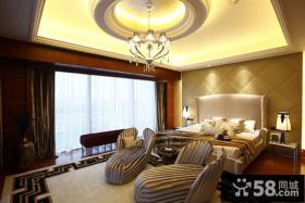 优质欧式样板间卧室高档装修效果图