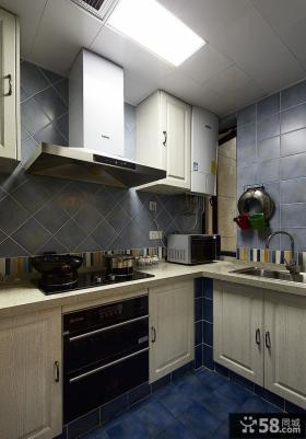 地中海风格家居厨房装修图片欣赏