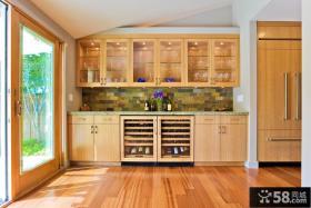 实木厨柜装修效果图大全2013图片
