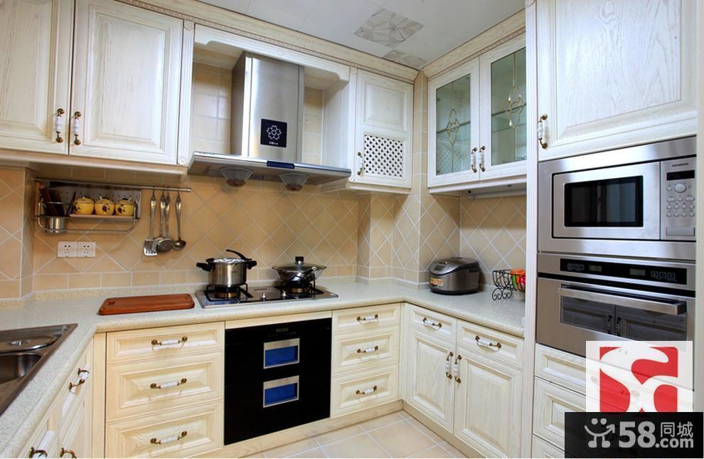 简欧风格的厨房装修