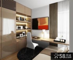Hap Seng tyc 80万打造四居简约风格书房装修效果图大全2012图片