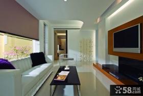 家庭装饰设计客厅电视背景墙图大全