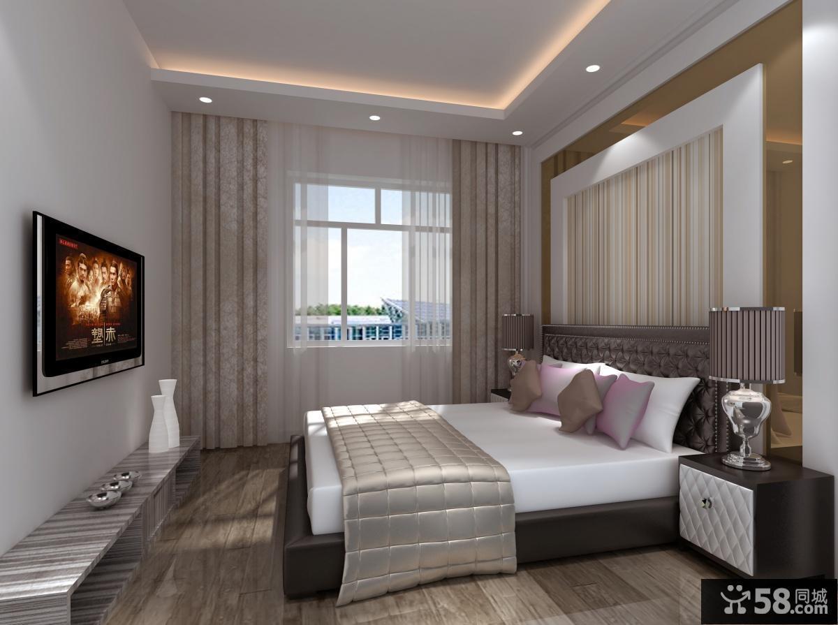 龍山國際經典兩房兩廳臥室裝修效果圖大全2012圖片