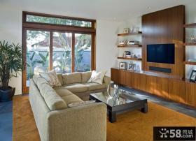 二室一厅的装修图片 客厅装修效果图