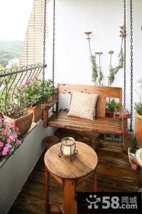 阳台装饰效果图片大全欣赏