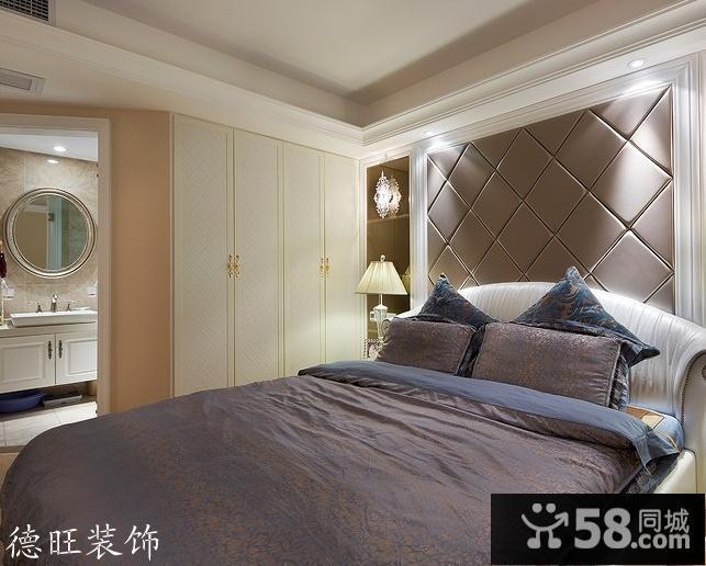 主卧室床头背景墙装修效果图大全2013图片
