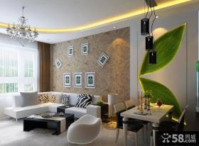 现代简约装修风格 简约风格沙发背景墙装修