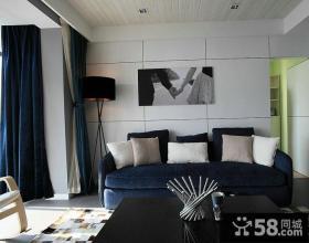 客厅沙发背景墙装饰画效果图大全