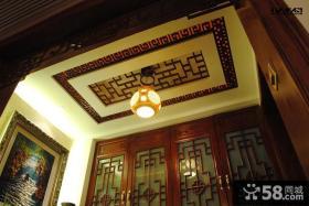 古典中式风格吊顶效果图
