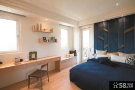 现代豪宅别墅卧室装饰效果图
