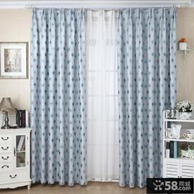 时尚欧式风格卧室窗帘效果图