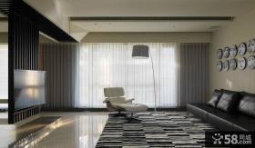 现代风格客厅电视背景墙装修效果图欣赏大全
