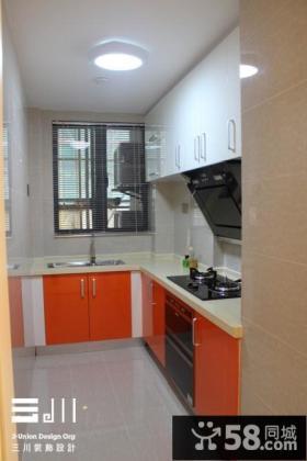 现代风格厨房装修效果图欣赏