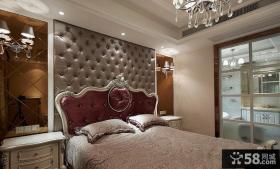 主卧室软包背景墙装饰效果图片