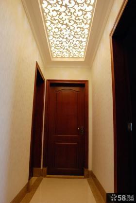 进门玄关吊顶装饰效果图片