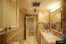 简约美式卫生间设计大全